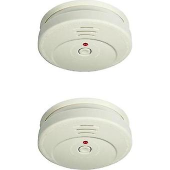 Smoke detector 2-piece set Smartwares RM149/2 battery-powered