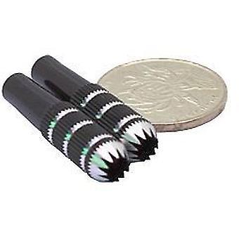 Senderen pinner, 8 * 24,7 MM svart