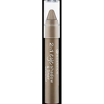 Essence 2 In 1 Eye Shadow And Liner (Woman , Makeup , Eyes , Eyeshadows)