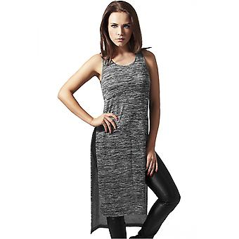 Urban classics ladies dress melange HiLo long top