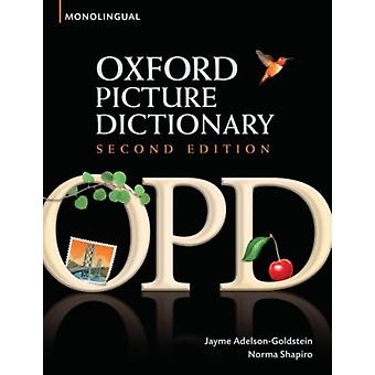 Oxford Picture Dictionary[ OXFORD PICTURE DICTIONARY ] By Adelson-Goldstein Jayme ( Author )Apr-28-2008 Paperback (Paperback) by Adelson-Goldstein Jayme Shapiro Norma