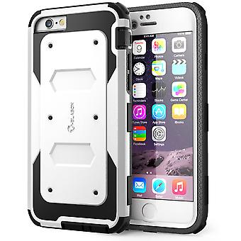 i-Blason- iphone 6 plus, Armorbox Series Dual Layer Full Body Protection Case with Screen Protector-White