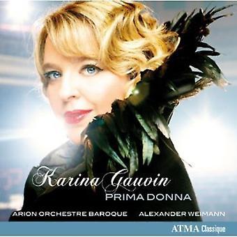 Handel/Vivaldi/Vinci - Prima Donna [CD] USA import