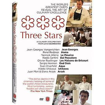 Tres estrellas [DVD] los E.e.u.u. la importación
