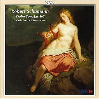 R. Schumann - Schumann: Violin Sonatas 1-3 [CD] USA import