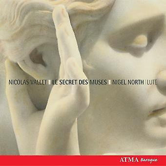N. Vallet - Nicolas Vallet: Importazione USA Le Secret Des Muses [CD]