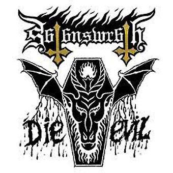Ira de Satanás - importación de Estados Unidos mueren mal [CD]
