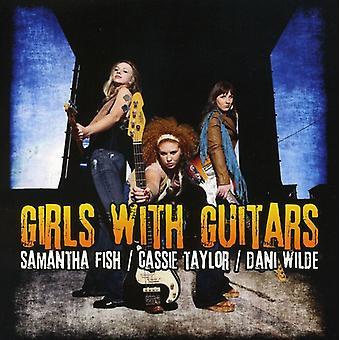 Fisk/Taylor/Wilde - piger med guitarer [CD] USA import