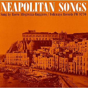 Rocco Allegrezza-Ruggiero - Neapolitan Songs [CD] USA import