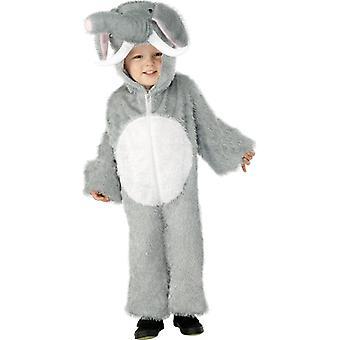 象の子象コスチュームを衣装します。