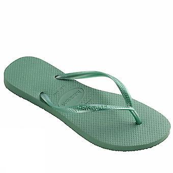 Havaianas Slim 4000030 6616Greentea Damen Meer Schuhe