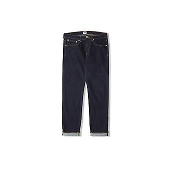 Edwin Jeans ED-80 Slim Tapered Jeans rouge Selvage cotées (rincés)