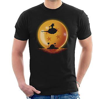 Dragon Ball Goku On Sunset Men's T-Shirt