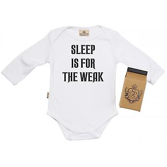 Spoilt Rotten Sleep For Weak Toddler T-Shirt 100% Organic Cotton