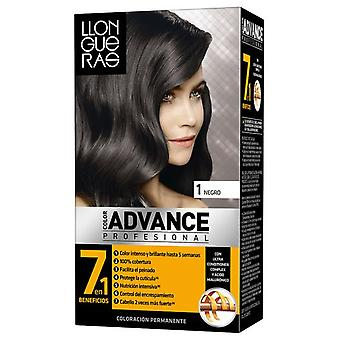 Llongueras Advance Hair Color # 1-Natural Colour Black
