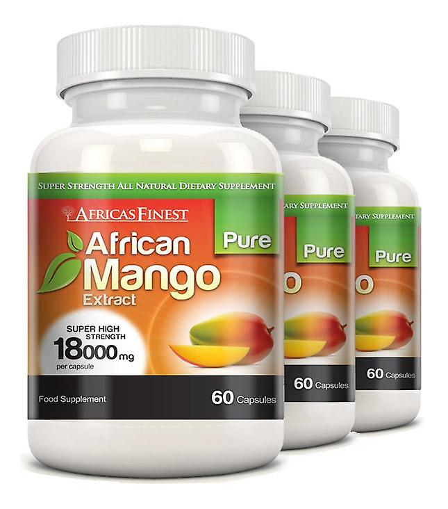 Africa's Finest Pure African Mango 18,000mg - 180 Capsules - Dietary Supplement - Evolution Slimming