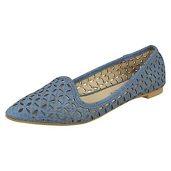 Ladies Spot su Slip On scarpe piatte