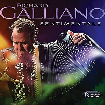 Richard Galliano - Sentimentale [CD] USA import