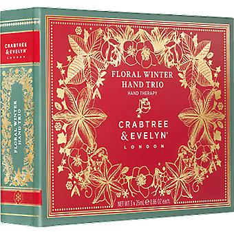 Crabtree & Evelyn Floral hiver main Trio