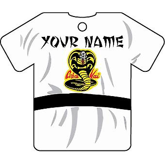 Your Name Cobra Kai Car Air Freshener