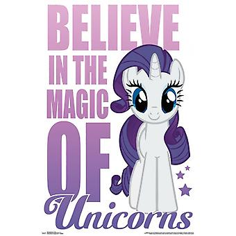 My Little Pony - Believe Poster Poster Print