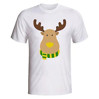 Norwich Rudolph zwolenników T-shirt (biały)