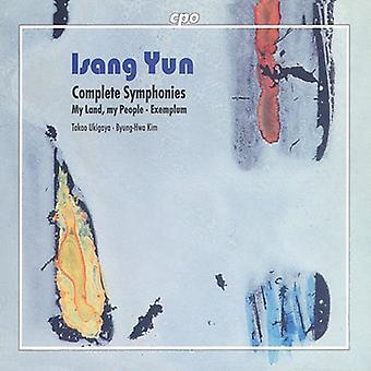 I. Yun - Yun: Symfonier [CD] USA import