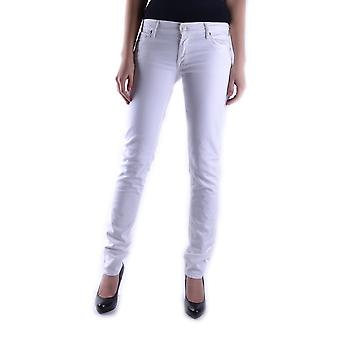 7 For All Mankind Damen MCBI004011O Weiss Baumwolle Jeans