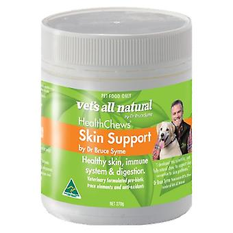 Vets All Nat. Skin Support HealthChews