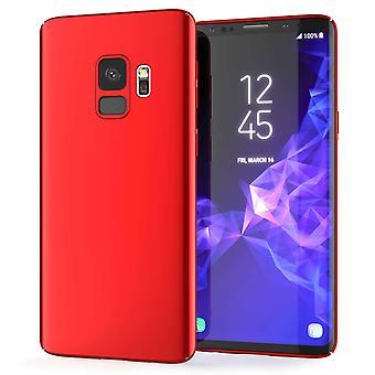 Samsung Galaxy S9 Ultra Thin Hybrid Case - Red