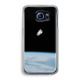 Samsung Galaxy S6 Transparent Case (Soft) - Alone in Space