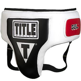 Title Boxing Elite Groin and Ab Protector - White/Black