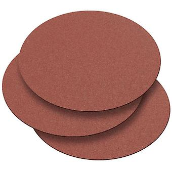 Record Power DS300/G1-3PK 300mm 60 Grit 3 Self Adhesive Sanding Discs