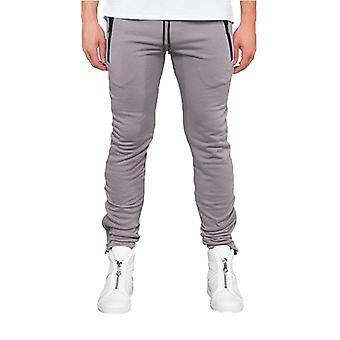 Army Cotton Joggers Grey