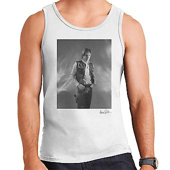 Star Wars Behind The Scenes Han Solo White Men's Vest