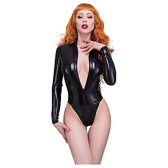 Westward Bound Mistress Latex Rubber Leotard.