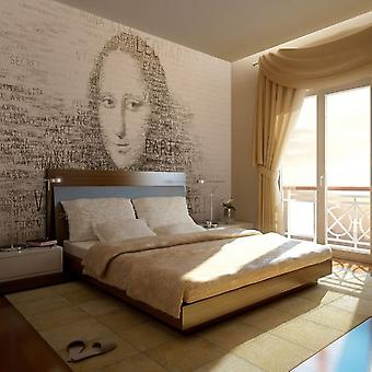 Wellindal Wallpaper Mona Lisa's thoughts (Decoration , Vinyls)