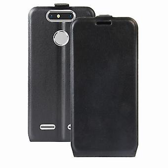 Flip premium fallet svart för ZTE blade V8 mini