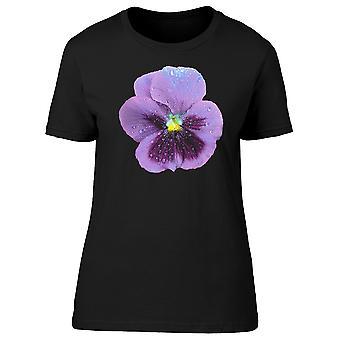 Flor violeta grande Tee feminino-imagem por Shutterstock