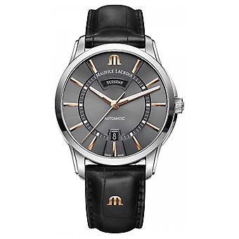 モーリス ・ ラクロア メンズ ポントス自動グレー ダイヤル PT6358-SS001-331-1 時計