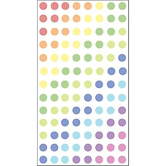 Sticko Stickers-Dots - Pastels