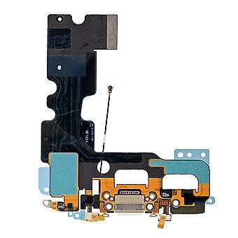 Hvid opladning Port forsamling For iPhone 7 | iParts4u