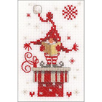 Vervaco Greeting Card Counted Cross Stitch Kit 4.25