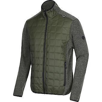 Regatta Mens Chilton III Hybrid vattenavvisande Full Zip fleecejacka