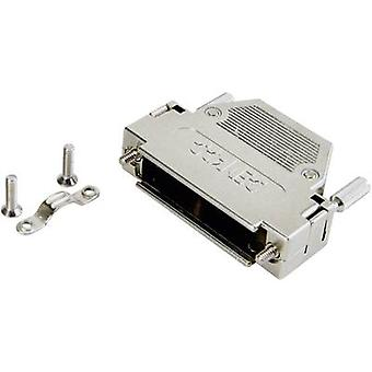 D-SUB housing Number of pins: 15 Plastic, metallised 180 ° Silver Conec 165X10919XE 1 pc(s)