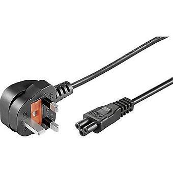 Goobay 96046 Laptop Mains cable Black 1.80 m