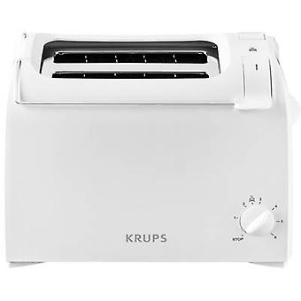 Krups KH1511 Toaster with built-in home baking attachment White