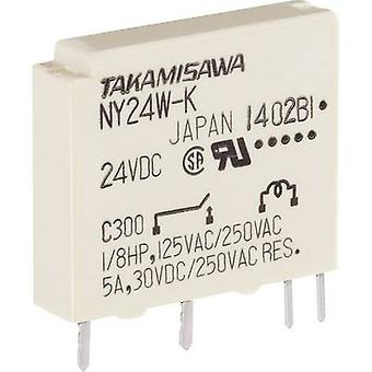 Takamisawa NY-12W-K-IE PCB relays 12 Vdc 5 A 1 maker 1 pc(s)