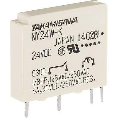 Takamisawa NY-12W-K-IE PCB relays 12 Vdc 5 A 1 maker 1 pc(s)