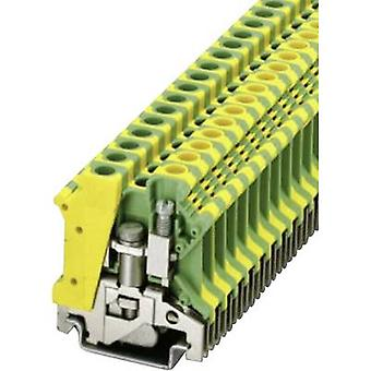 Phoenix Contact USLKG 6 N 0442079 Tripleport PG terminal Number of pins: 2 0.2 mm² 6 mm² Green-yellow 1 pc(s)